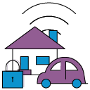 IoT security icon