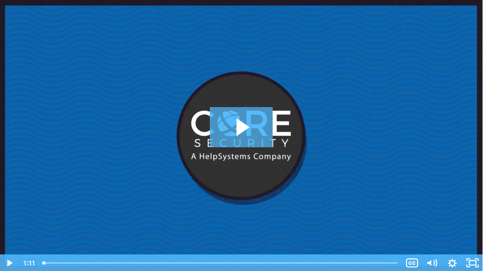 Coresecurity video thumnail